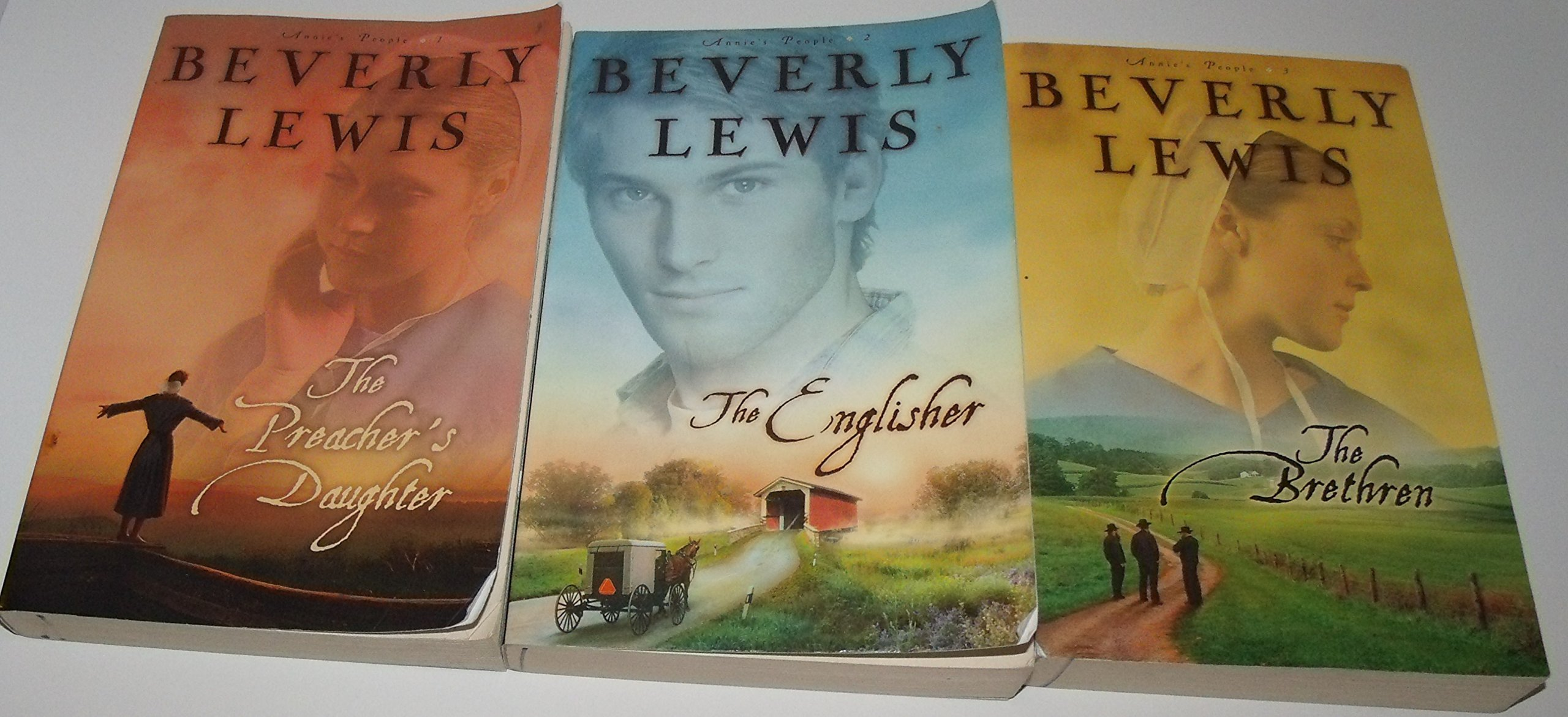 Download Author Beverly Lewis Three Book Bundle Of The Annie's People Series Includes: The Preacher's Daughter - The Englisher - The Brethren pdf