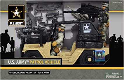 BRAND NEW! Army Patrol Playset Licensed Product of the U.S Army U.S