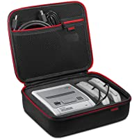 Super NES Classic Mini Case – Younik Hard Travel Carrying Case for Nintendo SNES Classic Mini Console (2017), two Controllers and HDMI Cable
