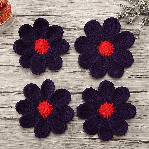 Zorjar Hecho a Mano Leche Algodón Crochet Daisy manteles de Mesa ...