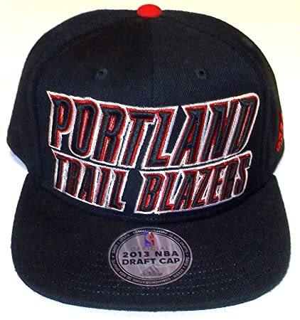 c1e06c17deb Image Unavailable. Image not available for. Color  Portland Trail Blazers  cap   adidas Portland Trail Blazers 2013 NBA Draft Authentic Snapback Hat -