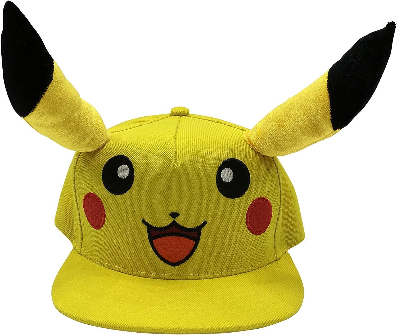 Pokemon Pikachu Gorra de béisbol Unisex, Color Amarillo: Amazon.es ...