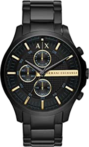 Armani Exchange Men's Three-Hand Stainless Steel Watch
