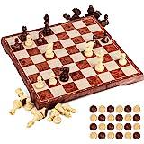 Aquamarine Games CP1070 - Ajedrez, damas y backgammon en
