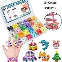 Abalorios Cuentas de Agua 3600 Perlas 24 Colors