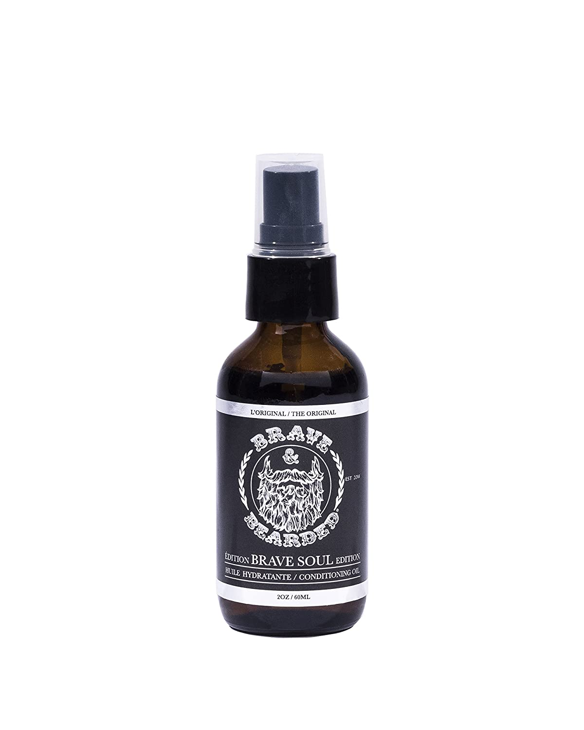 BRAVE BEARDED Brave Soul Edition Beard Conditioning Oil 60ml Cosbec