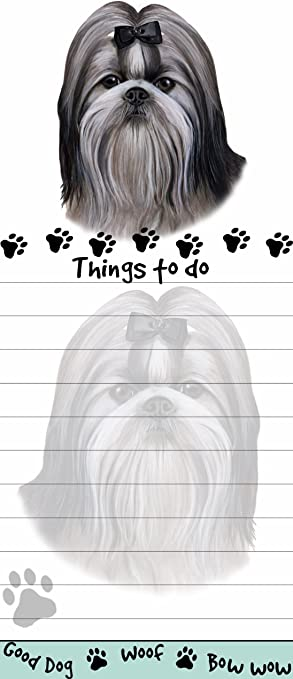 Scottie Magnetic List Pads Uniquely Shaped Sticky Listpad with 50 sheets.