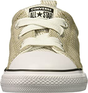 34283b13c43f3c Boys  Street Woven Canvas Slip On Sneaker Vintage Khaki Dolphin White 11 M  US Little Kid