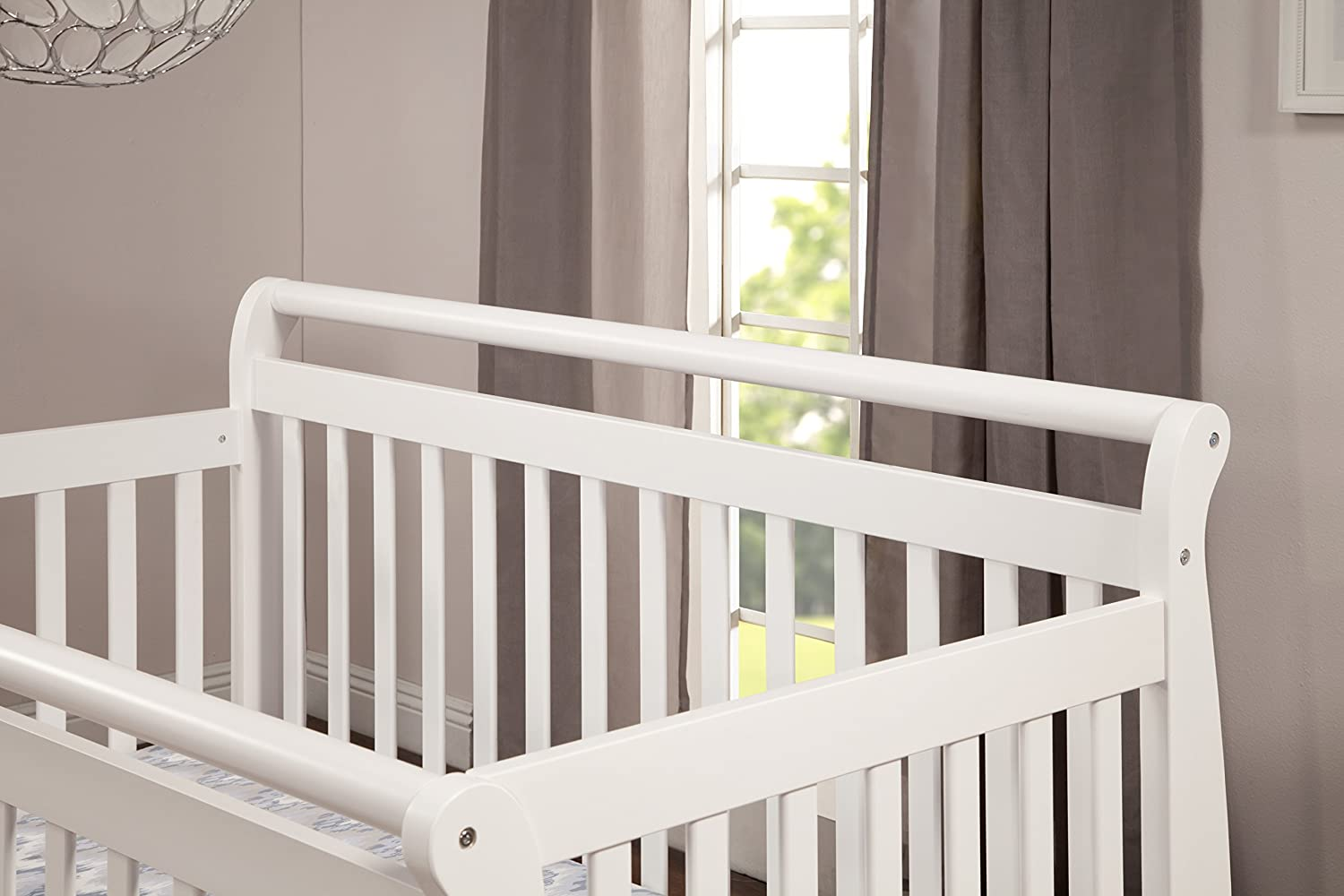 Baby bed hs code - Amazon Com Davinci Emily 4 In 1 Convertible Crib In White Finish White Bed For Infant Baby