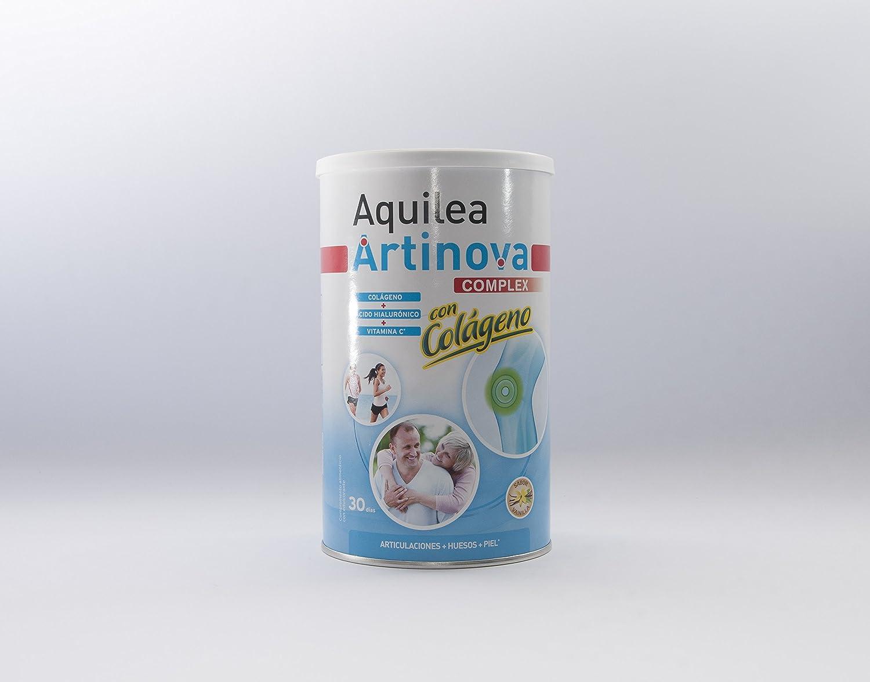 URIACH AQUILEA Artinova Colágeno+Acido Hialurónico y Vitamina C Sabor Vainilla 375 g: Amazon.es: Salud y cuidado personal