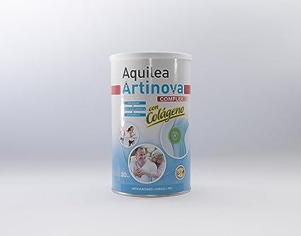 URIACH AQUILEA Artinova Colágeno+Acido Hialurónico y Vitamina C Sabor Vainilla 375 g