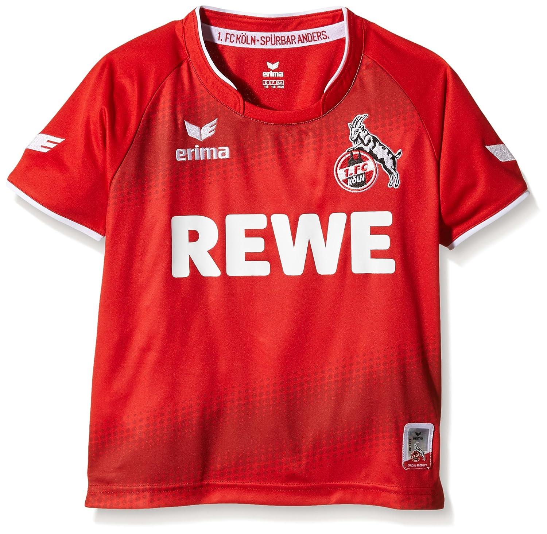 Erima Kinder FC Köln Away Trikot inklusive Rewe Logo