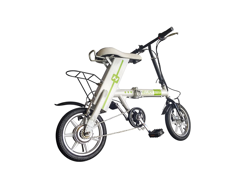Helliot Bikes NEO03 Bicicleta Eléctrica, Unisex Adulto, Verde (Eco), Talla Única: Amazon.es: Deportes y aire libre