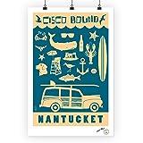 Nantucket, Massachusetts - Coastal Icons 68670