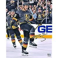 "$44 » Ryan Reaves Vegas Golden Knights Autographed 16"" x 20"" Black Jersey Goal Celebration Photograph - Autographed NHL…"