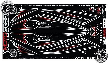 Kawasaki Z1000SX 2011 carenado frontal protección número Junta ...
