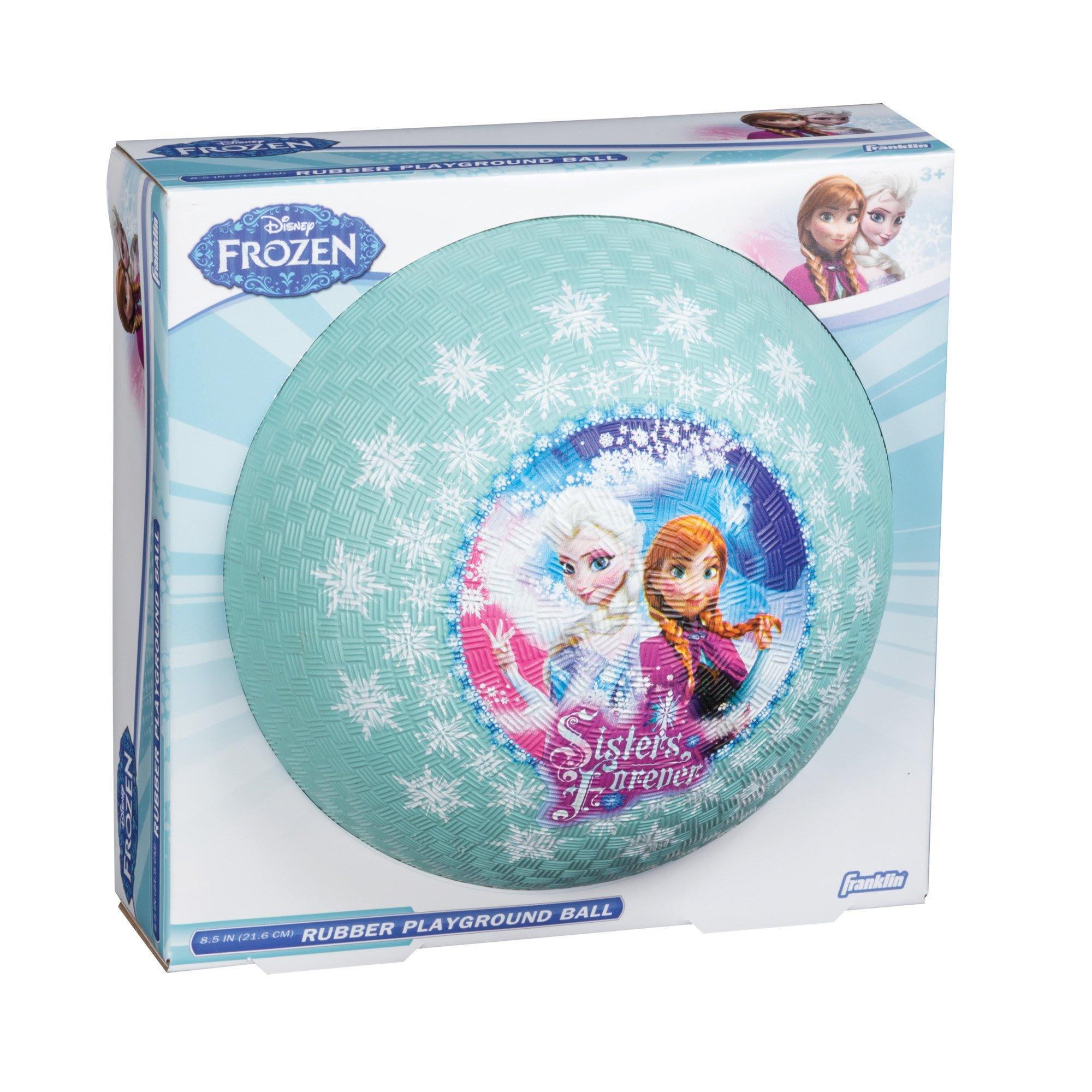 Franklin Sports Disney Frozen 8.5'' Playground Ball - Elsa/Anna