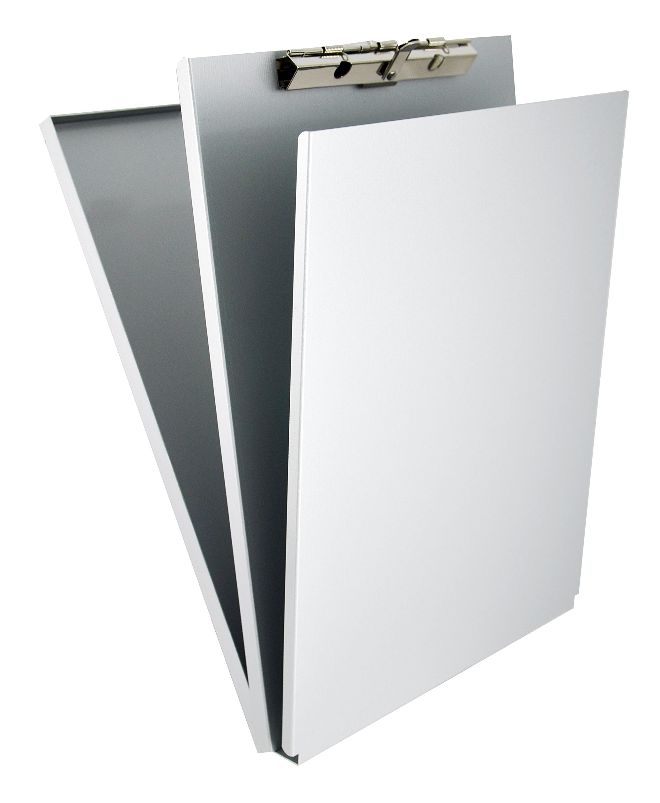 Saunders Recycled Aluminum A-Holder Form Holder - Letter Size Form Holder with Hinged Writing Plate. Office Supplies by Saunders
