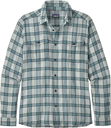 Patagonia Ms L/S Steersman Shirt - Camisa Hombre: Amazon.es: Ropa y accesorios