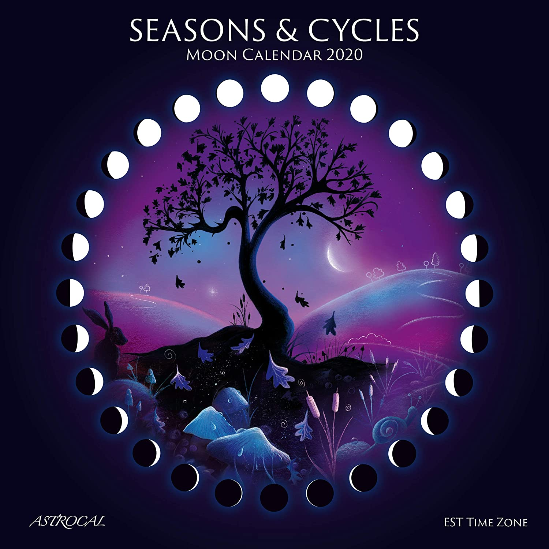 Seasons /& Cycles Moon Calendar 2020 EST