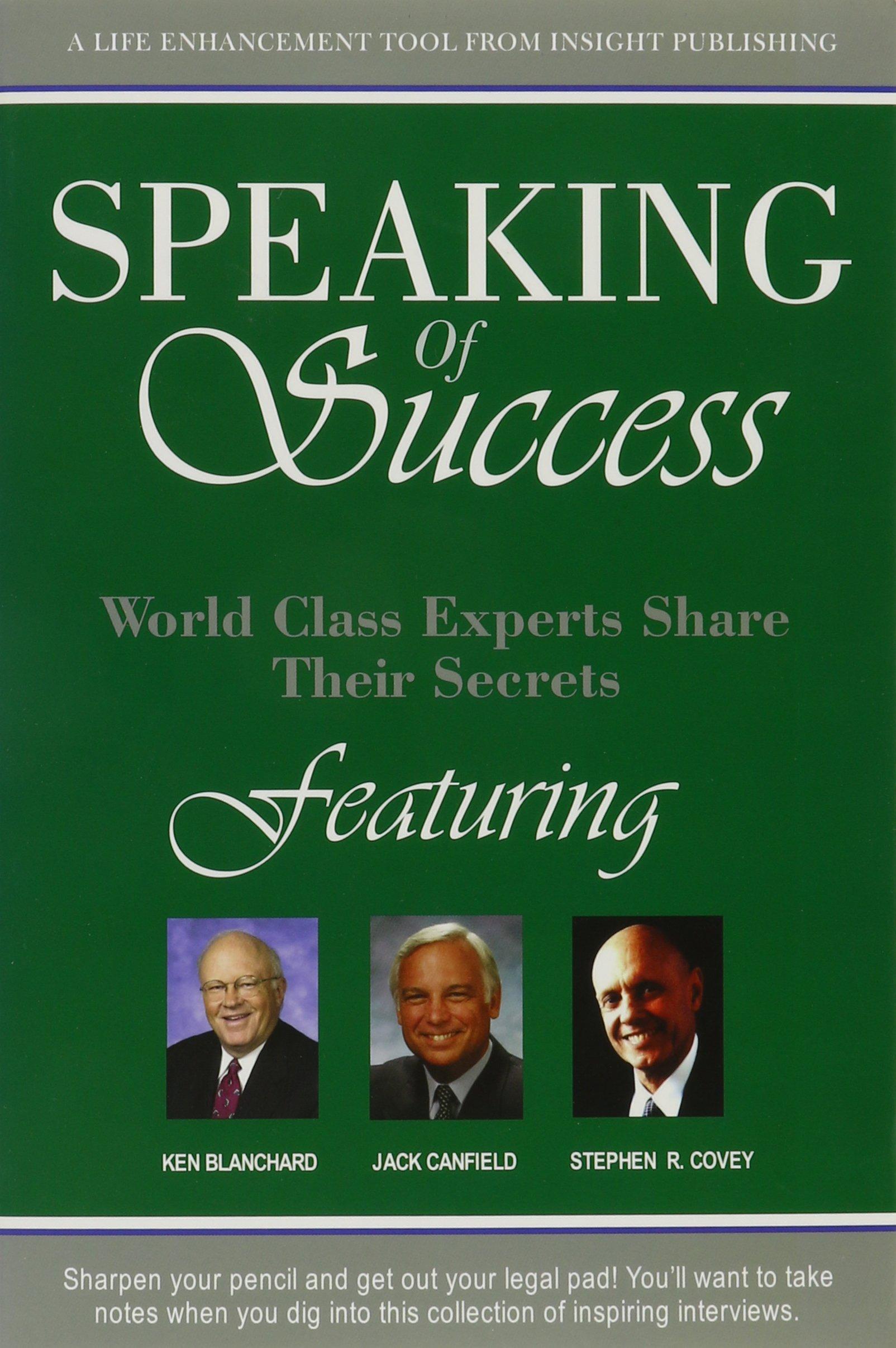 Download Speaking Of Success pdf epub