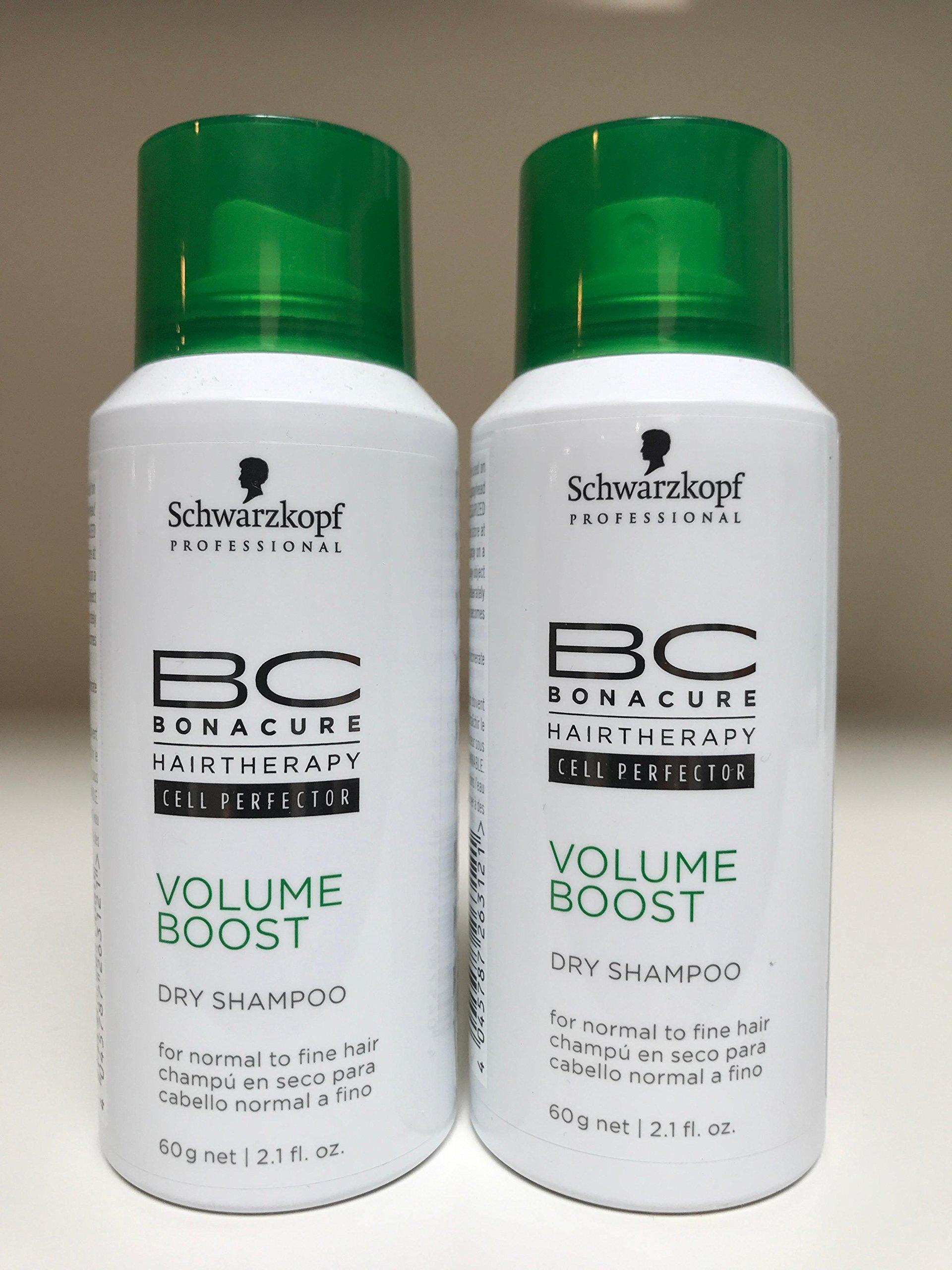 Schwarzkopf BC Bonacure Volume Boost Dry Shampoo - Set of 2 - 2.1 oz each by Schwarzkopf