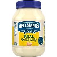 Hellmann's Real, Mayonnaise, 30 oz