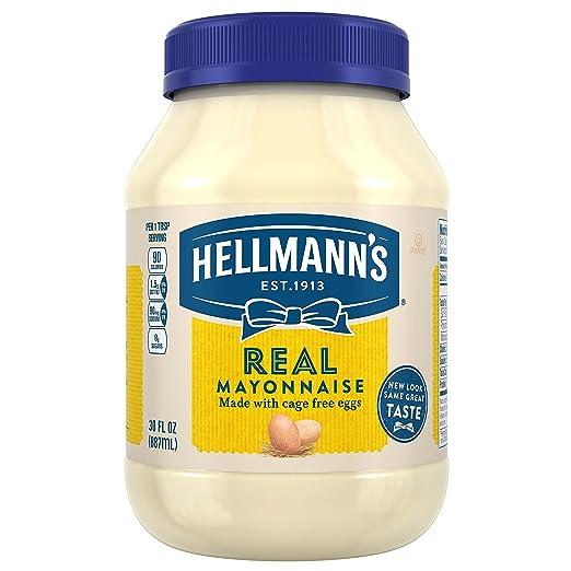 Hellmann's Mayonnaise, Real, 30 oz