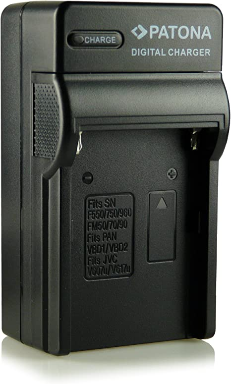 Patona® NP-FM500H - Cargador 3 en 1 para Sony Alpha 57 SLT-A57, 58 ...
