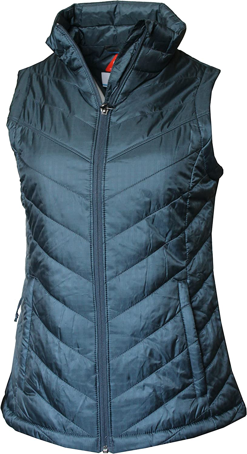 "New Womens Columbia /""Morning Light III/"" Omni-Heat Insulated Vest Plus Size"