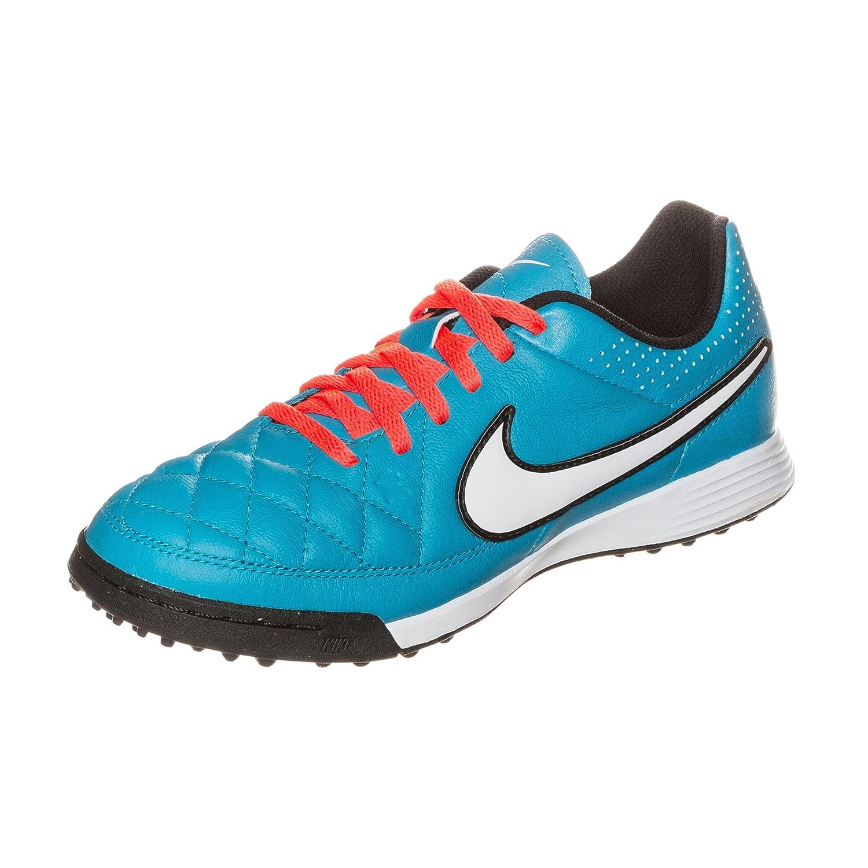 Nike Tiempo Genio TF Herren Fuszlig;ballschuhe  3Y NEO TURQ/WHITE-HYPR CRMSN-