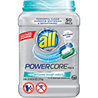 50-Count Powercore Pacs Laundry Detergent Tub