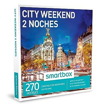 SMARTBOX - Caja Regalo - CITY WEEKEND 2 NOCHES - 270 hoteles en el corazón de más de 70 ciudades: Amazon.es: Deportes y aire libre