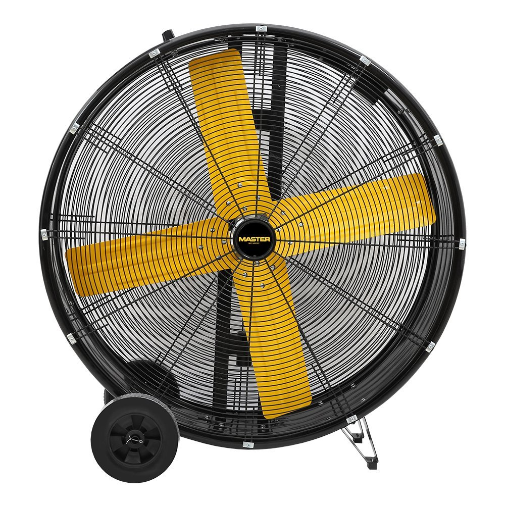 Master PROFESSIONAL MAC-30D 30″ High Capacity Direct-Drive Barrel Fan—5500 CFM, 1/3 HP, 120 Volt