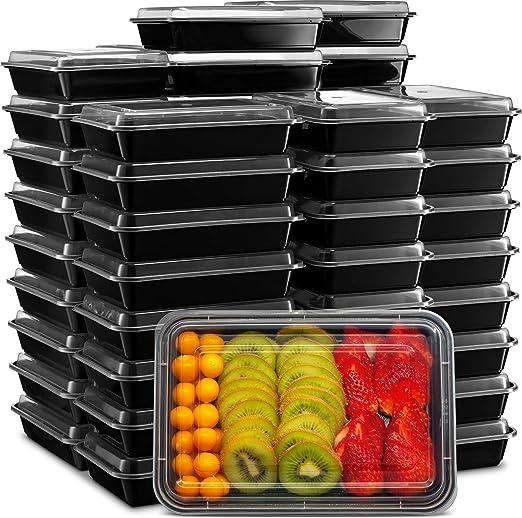 Ez Prepa - Recipientes para comida con tapa, recipientes de ...