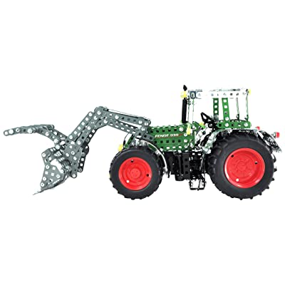 Tronico Tr10066 - Jeu De Construction - Professional - Tracteur Fendt 939 Vario + Fourche - 1462 Pièces