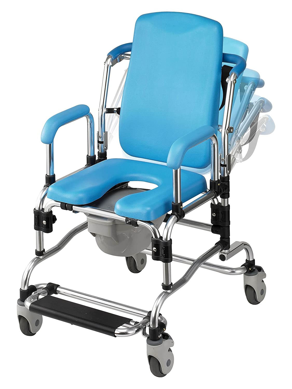 Amazon.com: Laguna Professional Reclining Shower Chair, Instutional ...