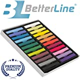 Hair Chalk Set with 24 Colors - Non-Toxic Temporary Hair Color - Draw On Your Hair and Wash Off Easily