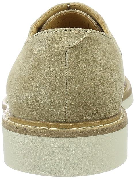 Parker, Zapatos de Cordones Derby para Hombre, Beige (Safari Beige G78), 43 EU GANT