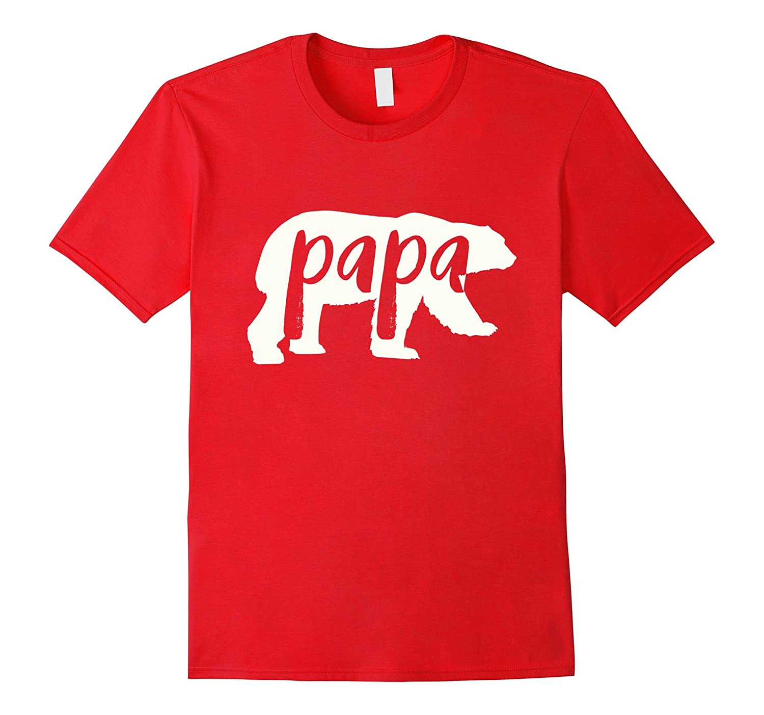 papa bear shirt white-CL