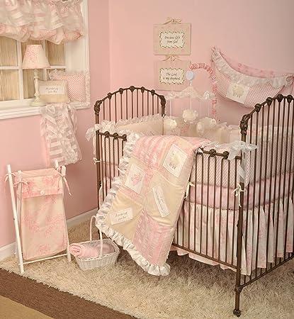 Amazon.com: Algodón tale Designs 100% algodón suave rosa y ...