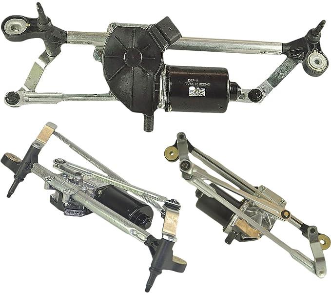 para Opel/Opel Corsa D (2006 - 2016) Motor para limpiaparabrisas Frontal y Mecanismo de vinculación: Amazon.es: Coche y moto