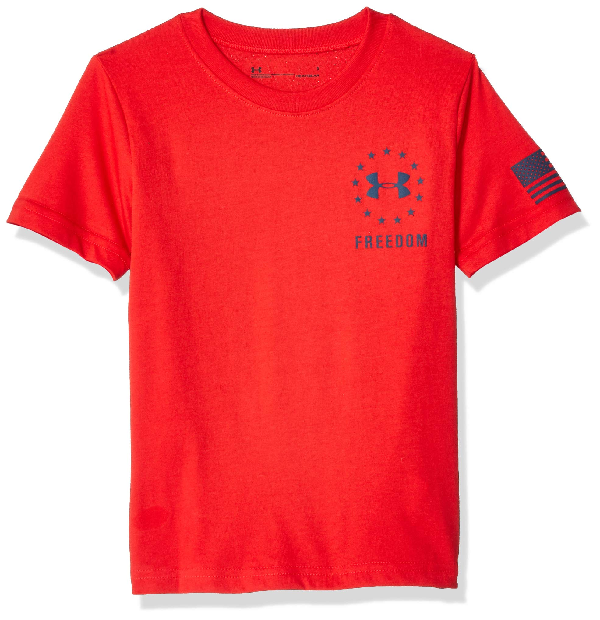 Under Armour Boys' Toddler Graphic SS Tee, red1 600, 3T