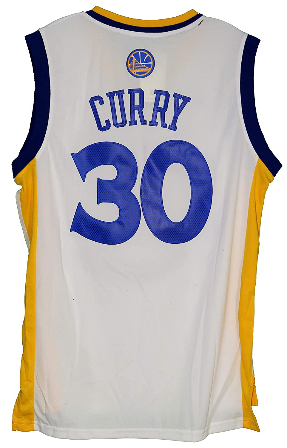 4c444dbccee Golden State Warriors 2015-16 Team Autographed Signed White Jersey Stephen  Curry Klay Thompson Draymond Green at Amazon's Sports Collectibles Store