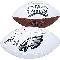 $129 » Miles Sanders Philadelphia Eagles Autographed Wilson White Panel Football - Autographed Footballs