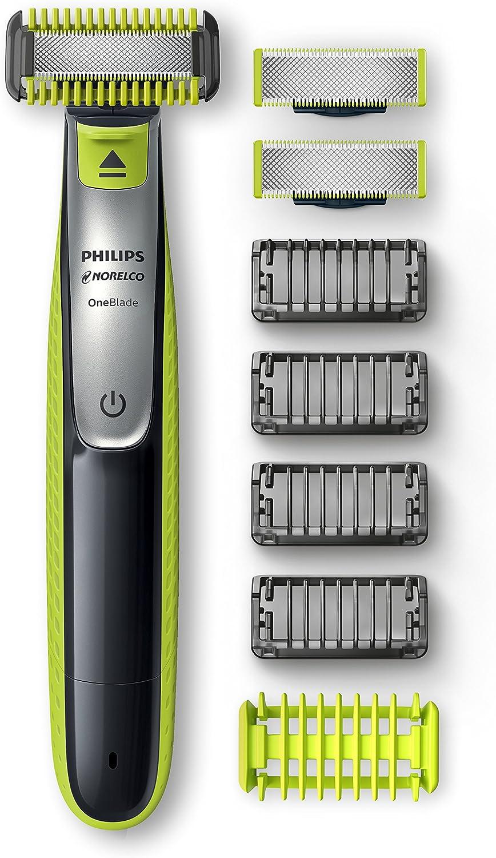 Philips Norelco OneBlade Face + Body Bonus Pack con hoja gratuita, QP2630/72: Amazon.es: Salud y cuidado personal