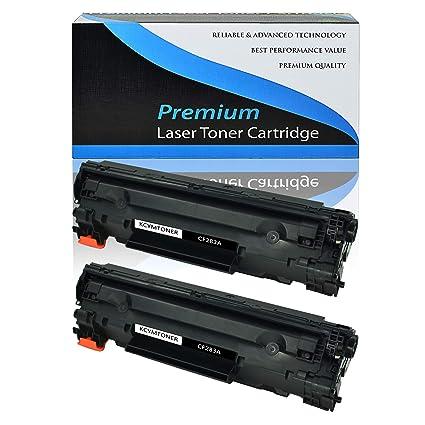 For HP CF283A 83A Black Toner LaserJet Pro MFP M125rnw M225dn 2 Pack FAST SHIP