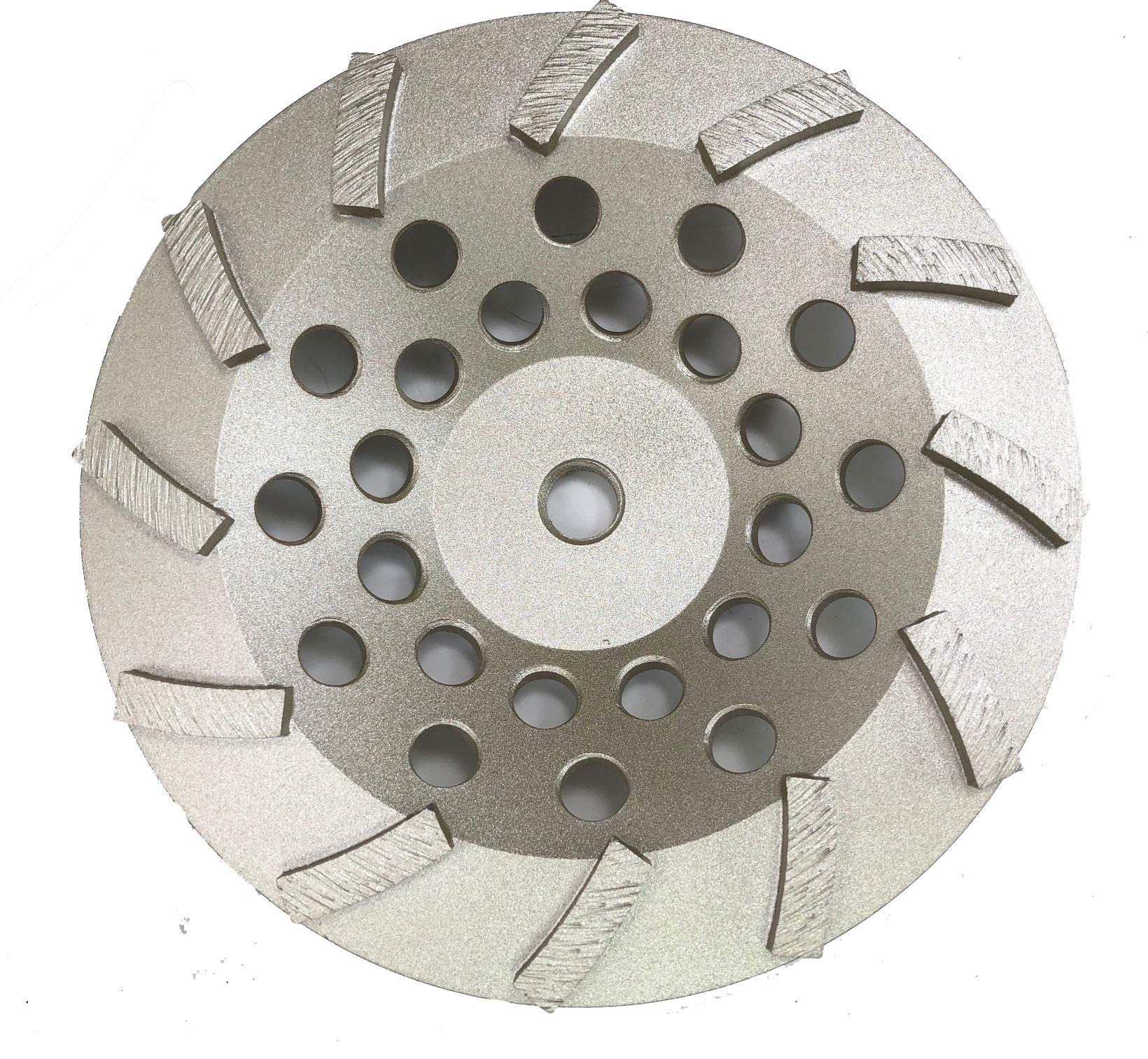 Diamond Cup Wheels Turbo Fast Grinding Threaded for Concrete (7'', 12 Seg)