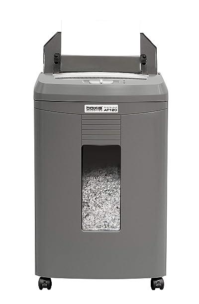 BOXIS AutoShred 120-Sheet Auto Feed Microcut Paper Shredder
