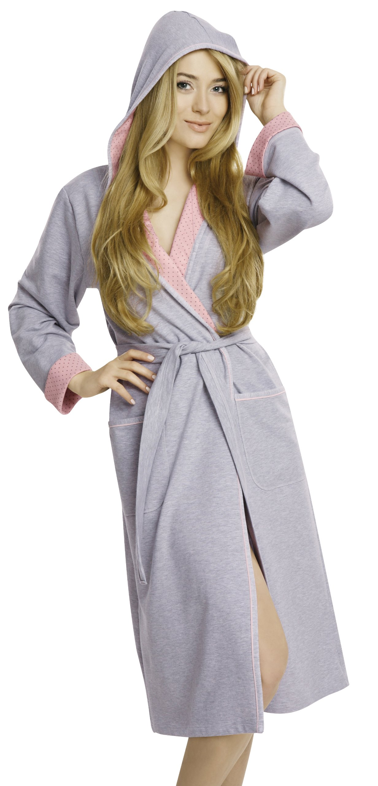 Italian Fashion IF Bata con Capucha Vestido de Casa Mujer Komfort product image